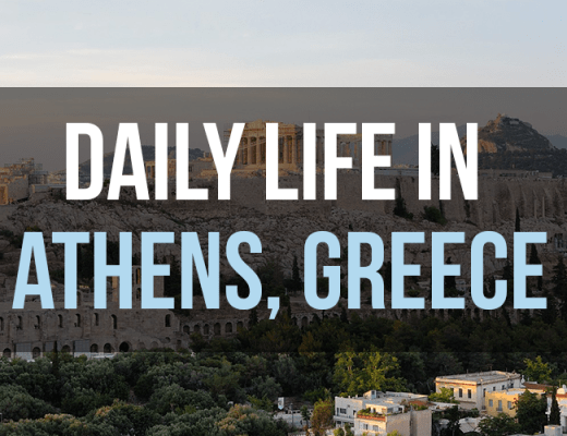Daily Live in Athens