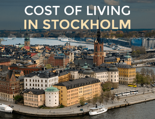 cost of living in stockholm