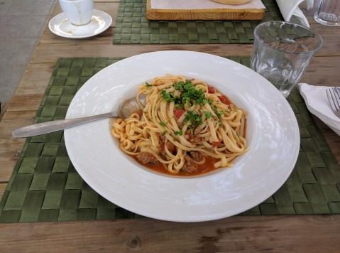 santorini spaghetti