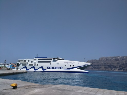 greek islands seajets ferry
