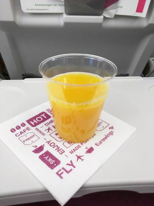 Orange Juice Eurowings