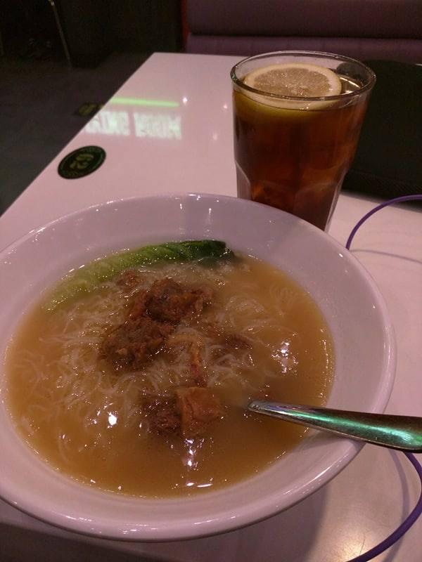 beijing airport meal