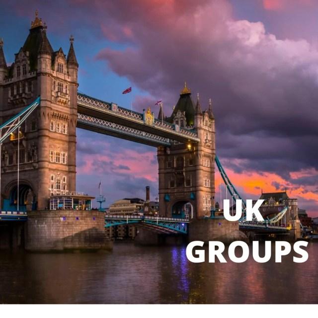 United Kingdom of groups on mewe