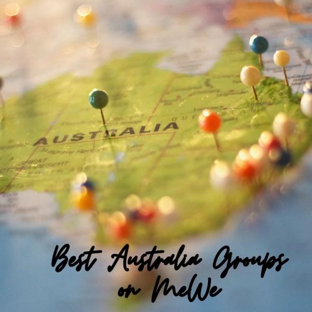 Best Australia Groups on mewe