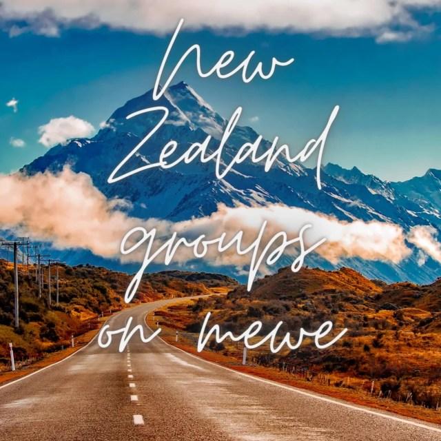 New Zealand groups on mewe