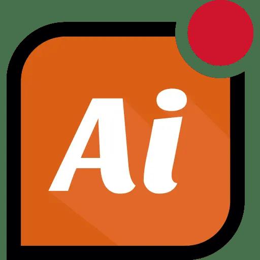 Ai 512x512 orange
