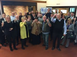 Celebration at Mexborough Business Centre