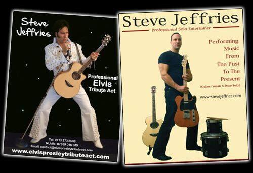 Steve Jeffries Elvis Tribute Act