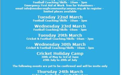 Community Campus Returns for Easter