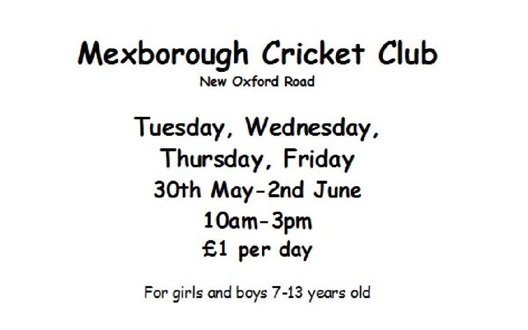 Enjoy Cricket – YCB event at Mexborough Athletic