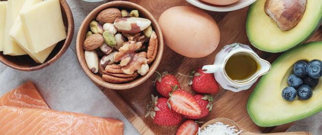 الكيتو دايت – قائمة الأطعمة والاكلات المثالية