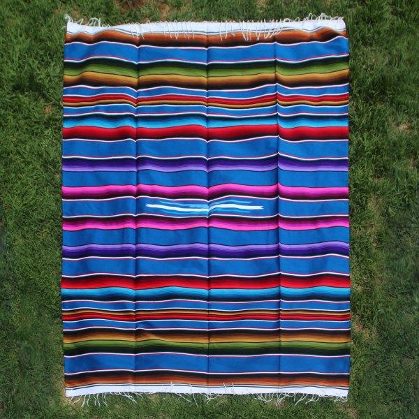 Blue Wool Serape