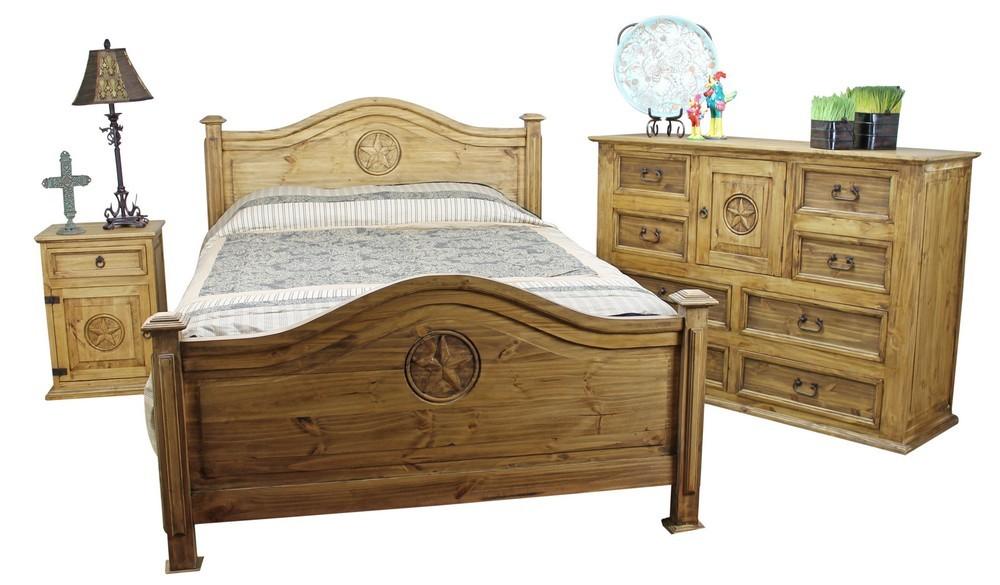 mexican pine furniture texas star