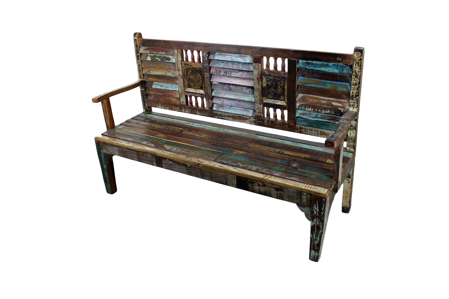 Mexicali Rustic Wood Bench Mexican Rustic Furniture And