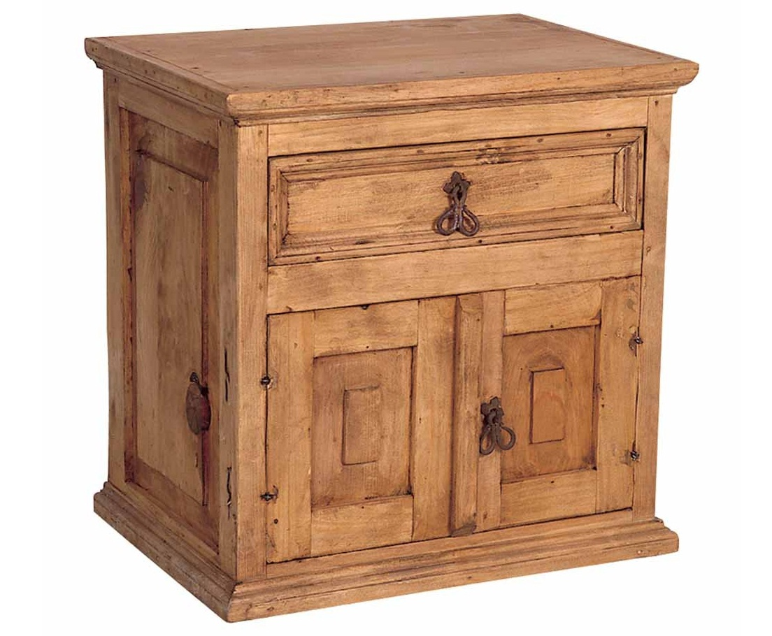 Mexican Pine Nightstand Mexican Rustic Furniture And