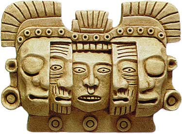 Aztec Mask of Death and Rebirth