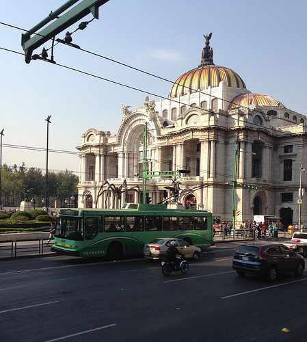 Mexico City Metrobus by DearEdward