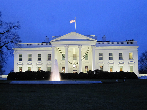 White House by Tom Lohdan