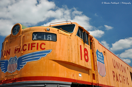 230/365: 08/18/2013. Union Pacific X-18 by peddhapati