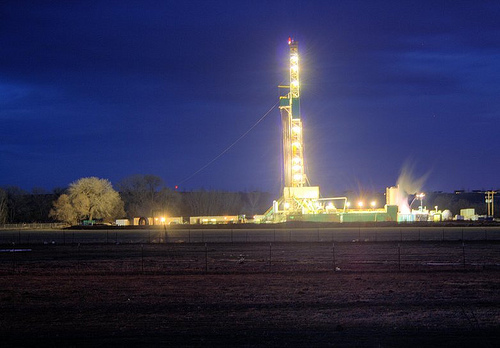 Photo credit: Drilling at Dusk by Shane Anderson