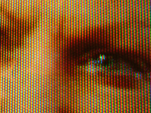 Television Face Close-up by Martin Howard