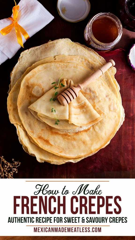 How To Make French Crepes | #french #crepes #breakfast #dessert #dinner