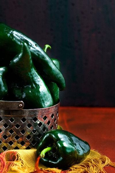 How to Roast Poblano Peppers Over an Open Flame | #poblanopeppers #howtocook #chilies