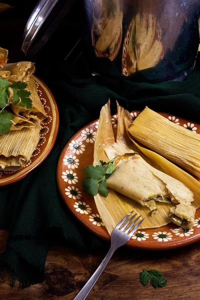 Jalapeño and Chihuahua Cheese Tamales | #Vegetarian Tamales with #Vegan Option