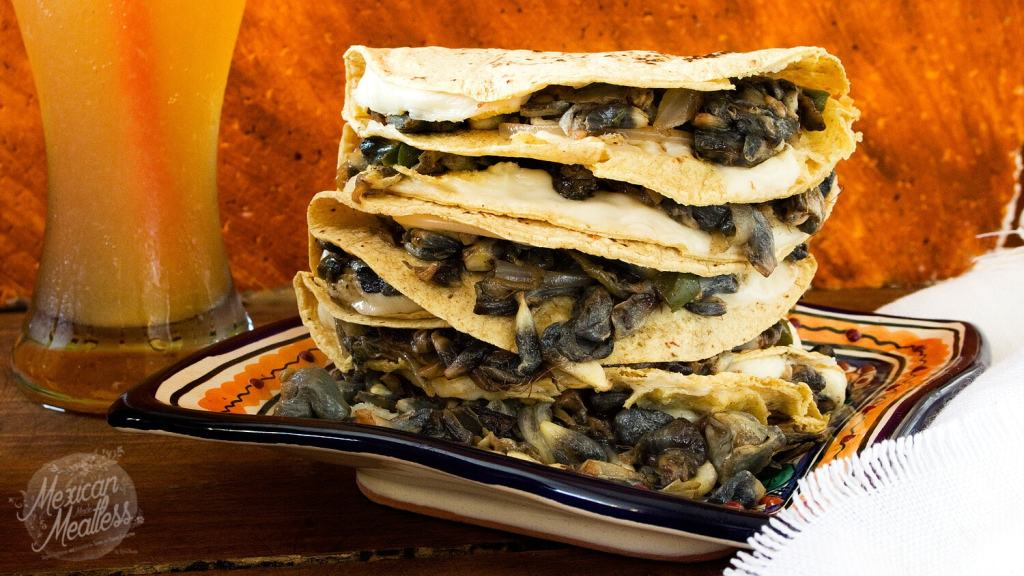 How to Cook Mexican Corn Truffle | Quesadillas de Huitlacoche