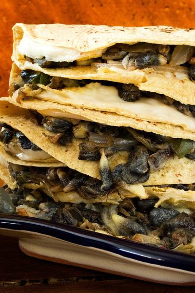 Corn Truffle Quesadillas | Quesadillas de Huitlacoche (Video Recipe)