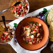 Heart of Palm Ceviche | Ceviche de Palmitos #vegan #raw #ecuadorianfood #mexicanfood