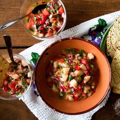 Hearts of Palm Ceviche | Vegan Ecuadorian-Style Ceviche with a Mexican Touch