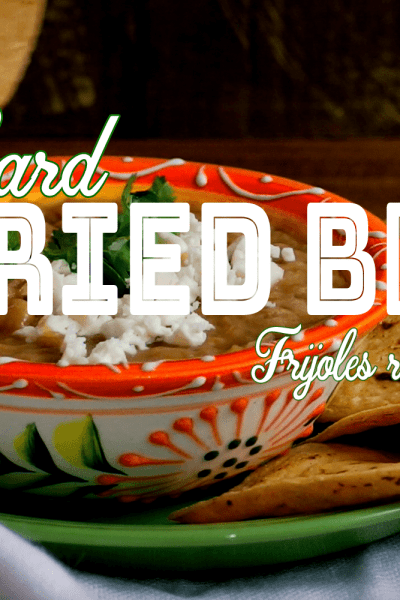 How to Make Refried Beans Without Lard | Como hacer frijoles refritos sin manteca