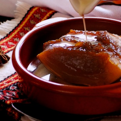 Calabaza En Tacha or Mexican Candied Pumpkin