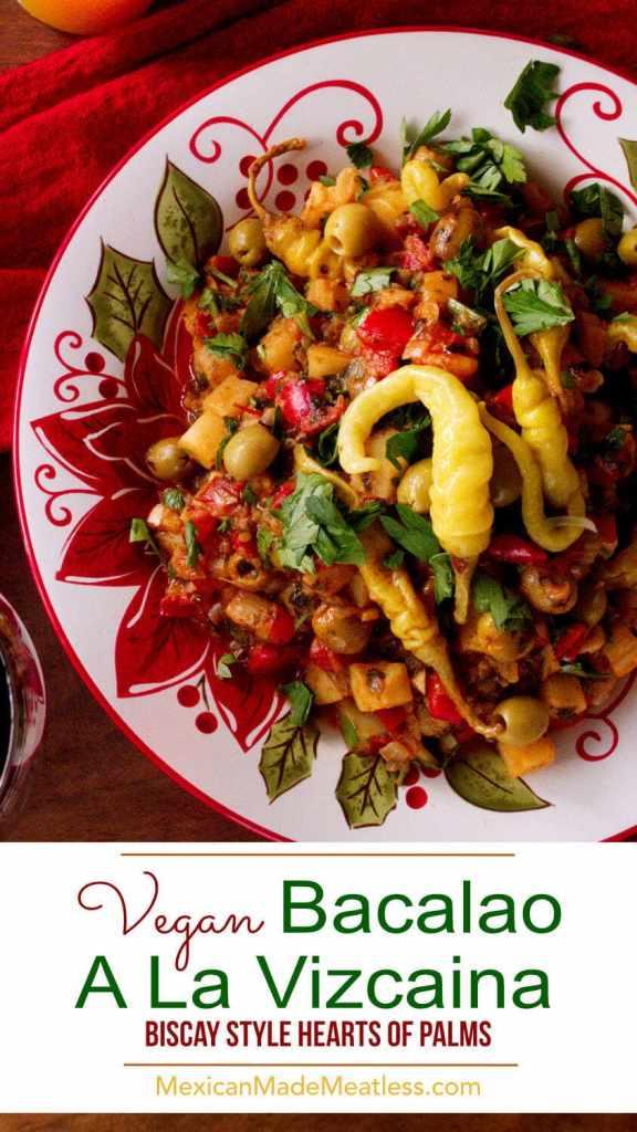 Bacalao a La Vizcaína Vegano   Veganized Basque-Style Cod