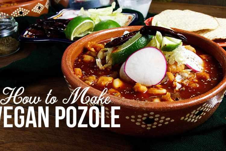 How to Make Vegan Pozole Rojo