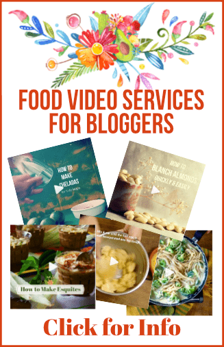 Food video services for bloggers mexican made meatless food video services for bloggers let me shoot your recipe videos forumfinder Images