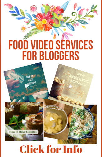 Food Video Services for Bloggers