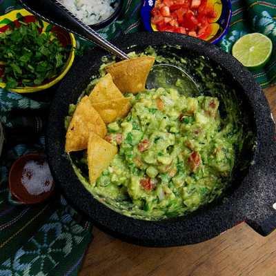 Small Batch Guacamole Recipe + Video