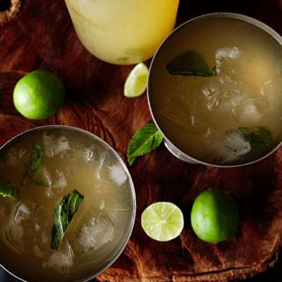 Mojito-Style Limeade | A Refreshing Drink Without The Alcohol
