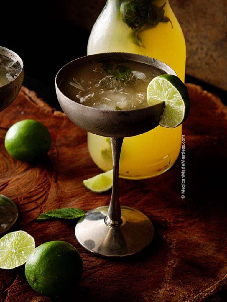 Mojito Style Limeade Recipe | (Non-Alcoholic Drink)