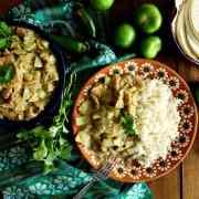 Vegan Chicharron in Salsa Verde Recipe