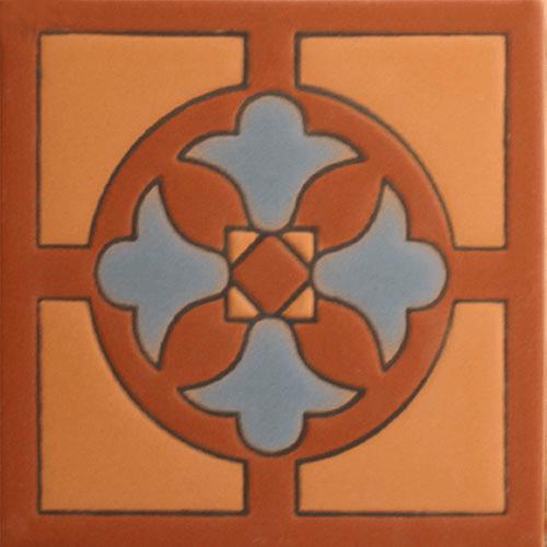 santa barbara style ceramic tile