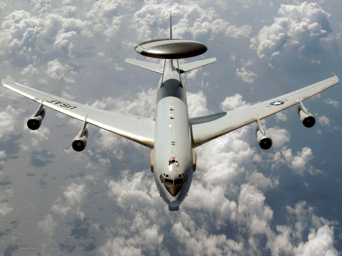 E 3 Sentry AWACS Aircraft Wallpapers 10