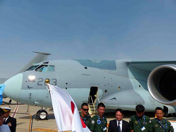 JASDFKawasakiC-2-MakesInternationalDebut