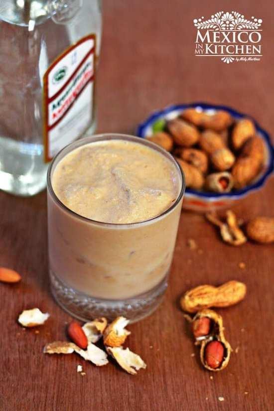 Torito de cacahuate, disfruta esta deliciosa bebida