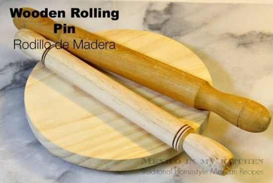 Rodillo de madera, Utensilios de cocina mexicanos