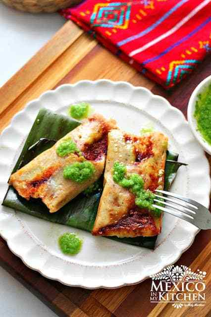 Tamal wrapped in banana leaf recipe