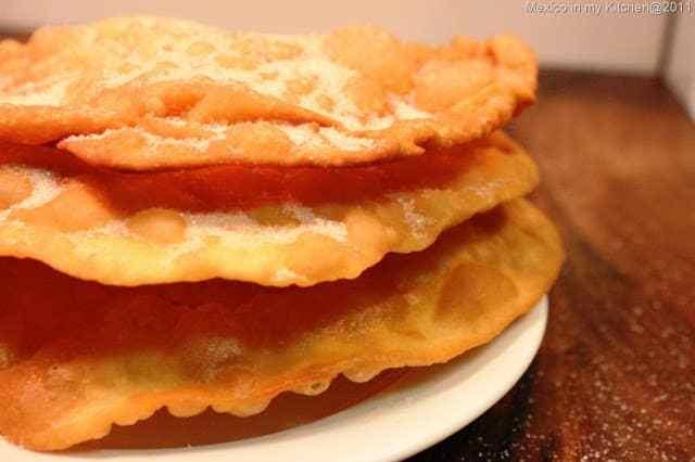 Buñuelos recipe