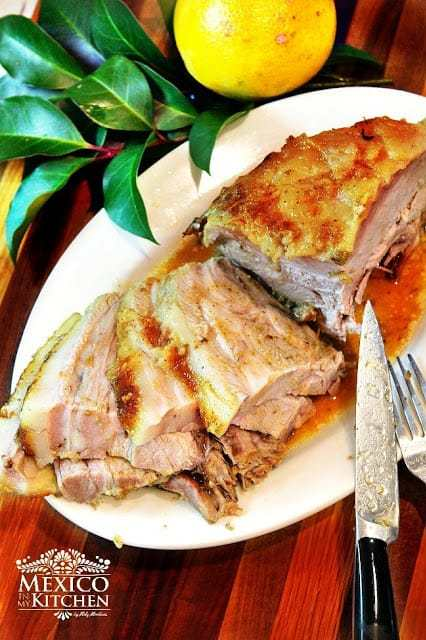 Roasted pork leg easy and delicious recipe